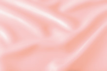 Smooth Elegant Shiny Pink Silk...