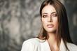 Leinwandbild Motiv hair care and makeup