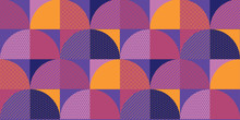 Decorative Colorful Geometric ...