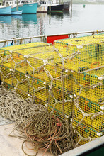 Stacks Of Crab Traps