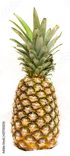 Fototapety, obrazy: Huge juicy and ripe pineapple is a great food product