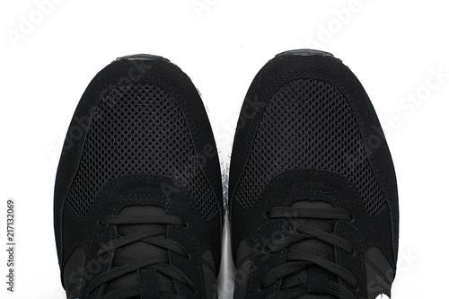 Fotografija  women's sports shoes isolated on white background.