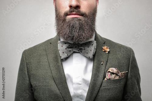 Cuadros en Lienzo Detail of a very elegant gentleman
