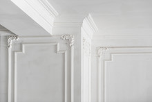 Unfinished Plaster Molding On ...