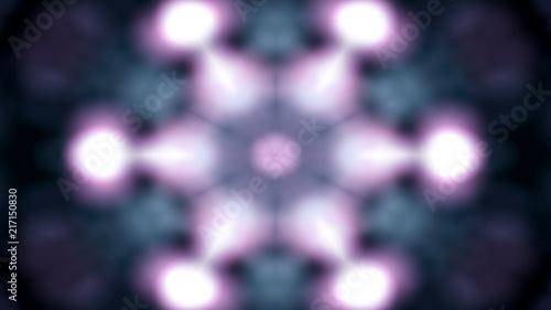 Fototapeta Colorful Shiny and Hypnotic Kaleidoscope obraz na płótnie