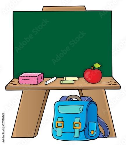 Poster Voor kinderen Schoolboard topic image 1