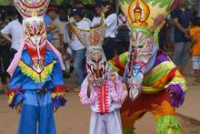 Phi Ta Khon Festival Thailand