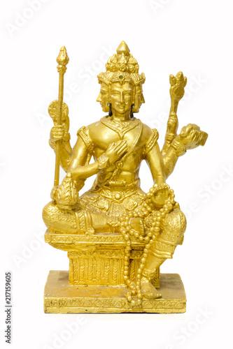 Deity statues thai art