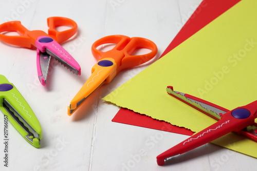 Fotografie, Obraz  Decorative scissors