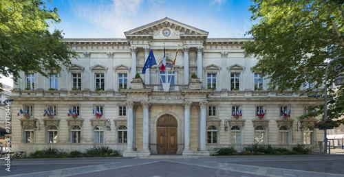 Fényképezés The city hall in Avignon. Vaucluse, Provence, France, Europe.