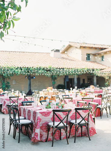 Fotobehang Restaurant Indian Wedding Details