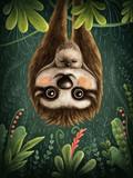 Cute sloths - 217184490