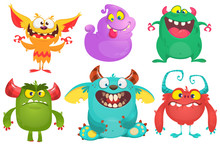 Cartoon Monsters Collection. V...