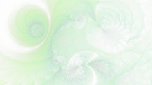 Organische Gebilde - Pastellgrün