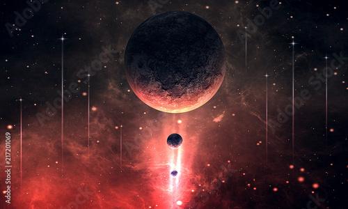 Fototapeta Красный космос obraz