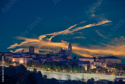 Canvas Print high bergamo