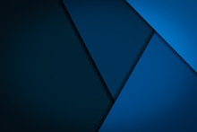 Abstract Blue Background Geome...