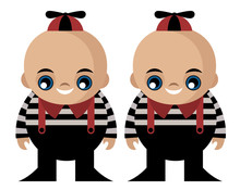 Tweedledee And Tweedledum Twins