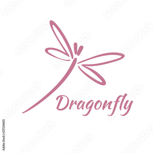 Dragonfly Template | Dragonfly Logo Design Template Vector Illustration Buy This Stock