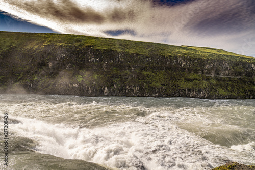 Foto op Plexiglas Grijze traf. Iceland