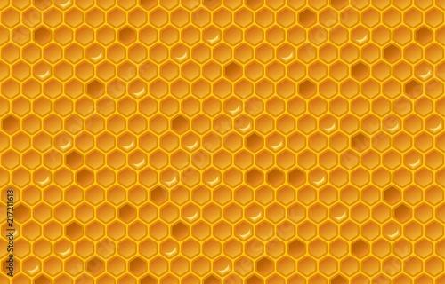 Fotografía Honey comb pattern