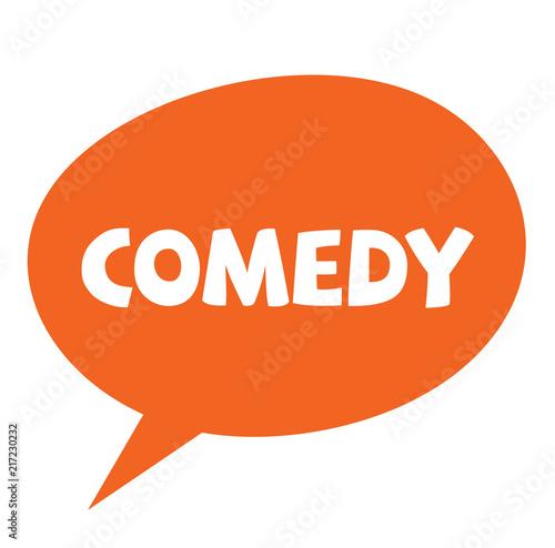 Fotografija  comedy label , stamp