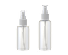Clear Glass Bottle Spray Isola...