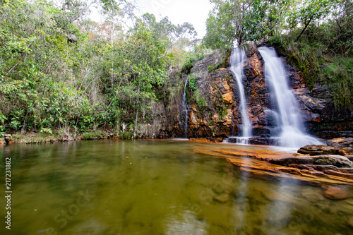 Calm Waterfall Canvas Print
