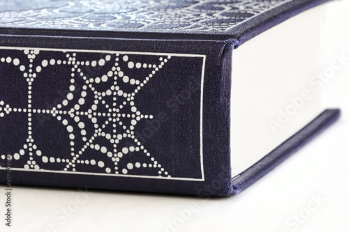 Fotografie, Obraz  Close-up of hardcover book with decorative cover