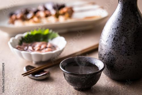 日本酒とおつまみ