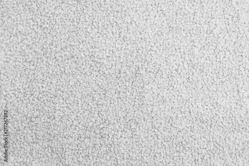 Fotografie, Obraz White Soft Carpet Texture Surface, Closeup shot and Top View