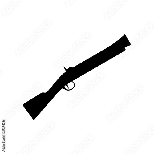 Blunderbuss, firearm with a large short caliber barrel Wallpaper Mural