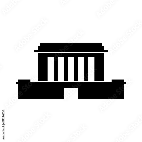 Obraz na plátně Mausoleum, free-standing monument building