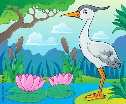 Poster Voor kinderen Bird topic image 9