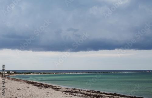 Deurstickers Canarische Eilanden sea beach