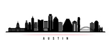 Austin City Skyline Horizontal...