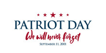 9/11 Patriot Day Background. U...