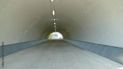 Tunel stadionu Billede på lærred