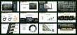 City landscape Business backgrounds of digital technology. Colored elements for presentation templates. Leaflet Annual report cover design. Banner brochure layout design. Flyer. Vector illustration