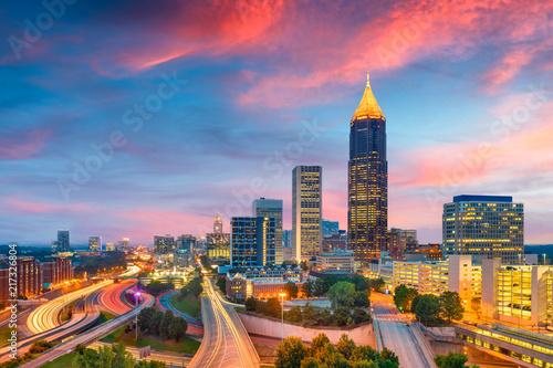 Atlanta, Georgia, USA downt...