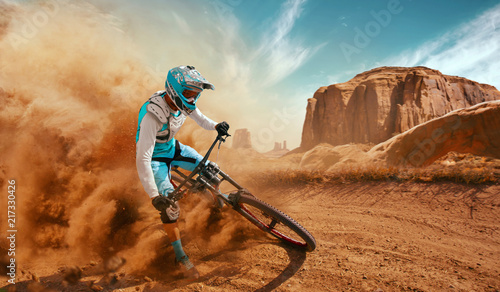 downhill Canvas Print
