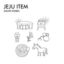 Items Of Jeju Island In South ...