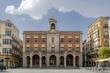 Fachada del ayuntamiento en la Plaza Mayor de Zamora, España