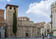 Iglesia románica de Santiago del Burgo en Zamora, España