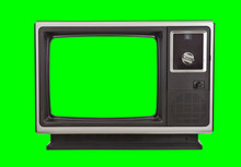 Vintage 1970s Television With ...