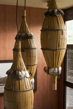 Detail Tropical Bamboo Lights