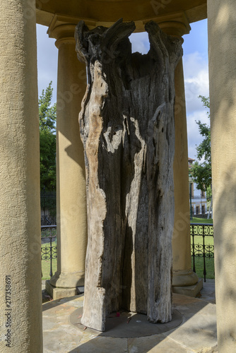 The Old Tree of Gernika is a Oak tree that symbolizes freedom for the Biscayan a Canvas Print