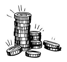 Coins Sketch