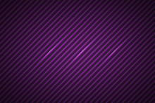 Purple Lines Abstract Background, Oblique Lines, Simple Vector Illustration