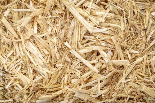 dry raw straw bale background Wallpaper Mural